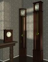 clock p c k 3D model
