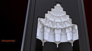 3D muqarnas