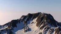 Low Poly Mountain Terrain