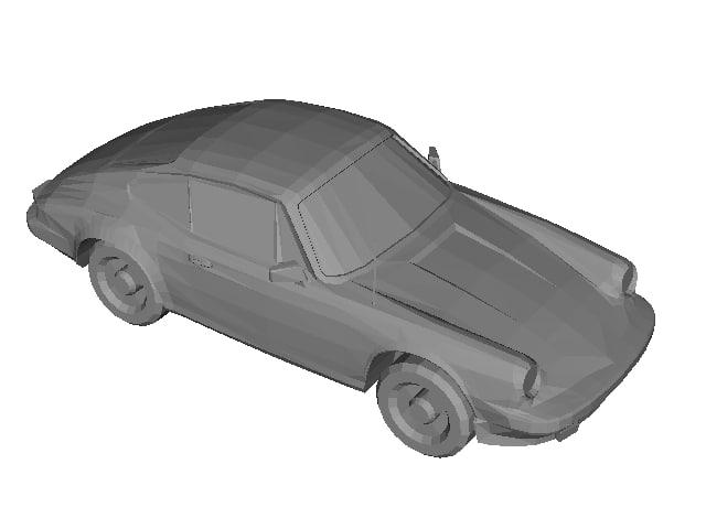 3D car placeholder