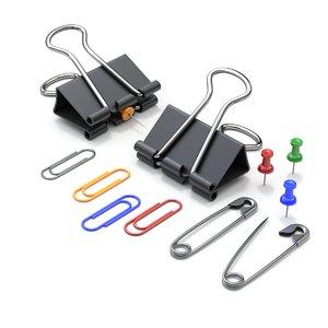 binder paper clips 3D model