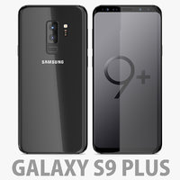 samsung galaxy s9 3D model