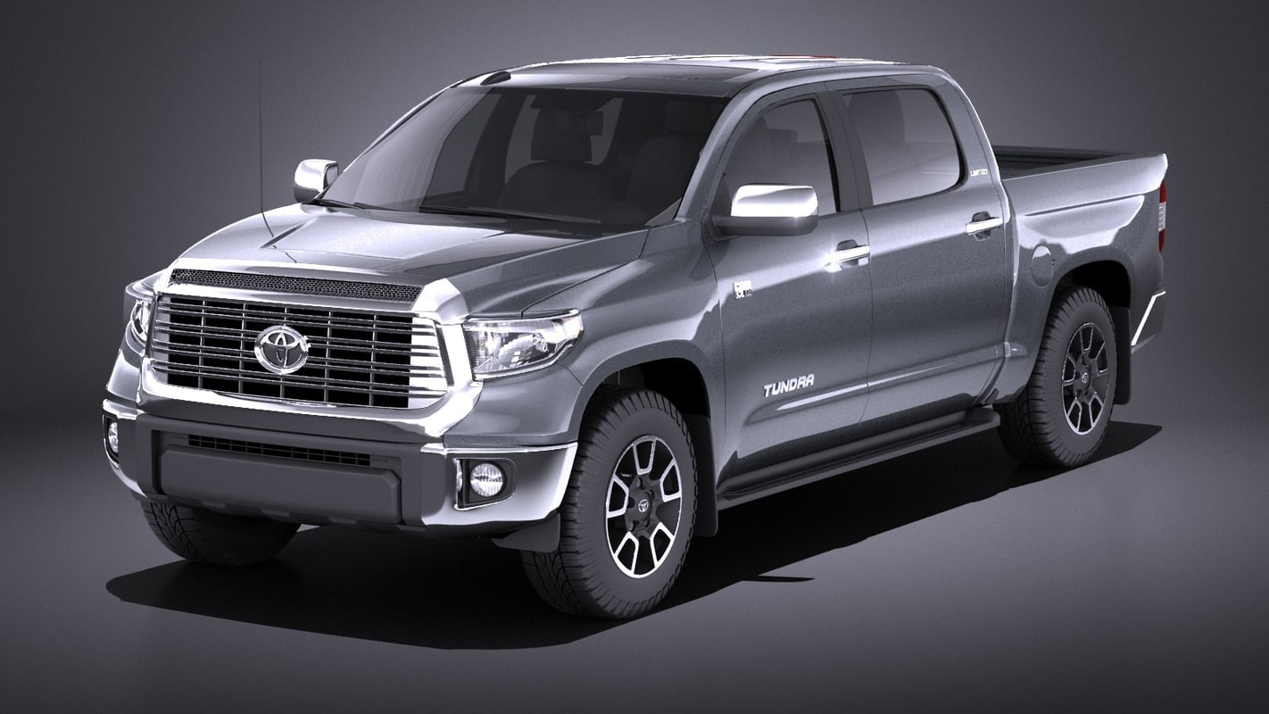 3D 2016 toyota limited model