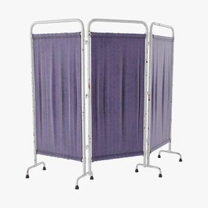 medical folding screen 3D