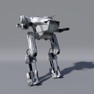 warmesh robot 3D model