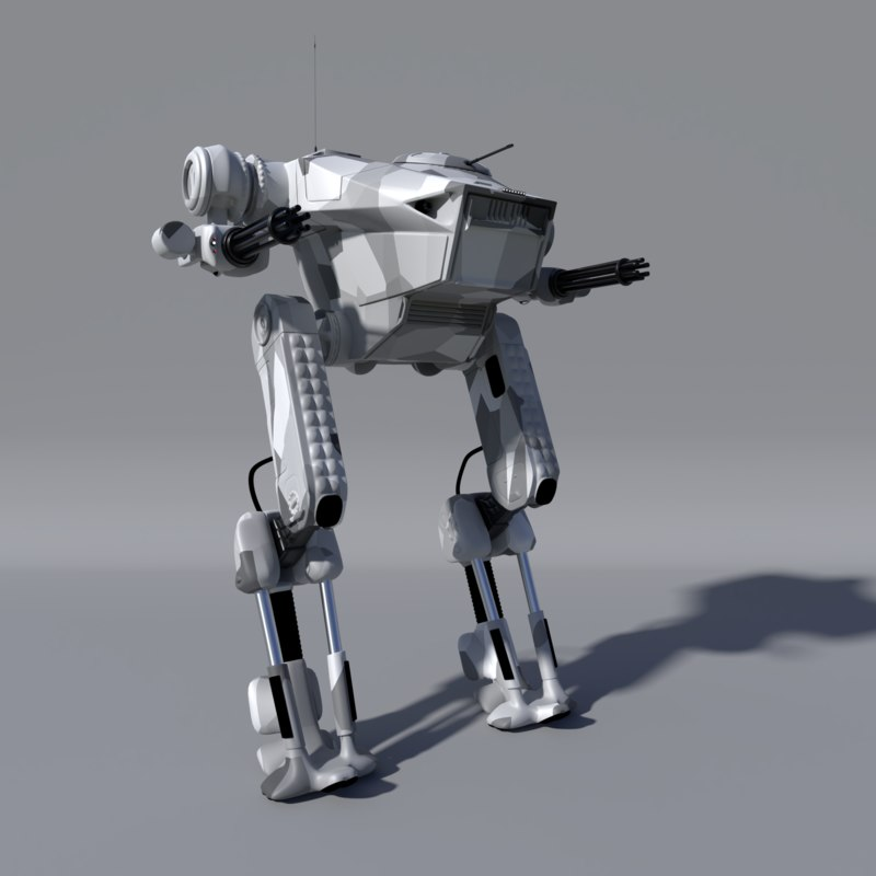 warmesh robot 3D model