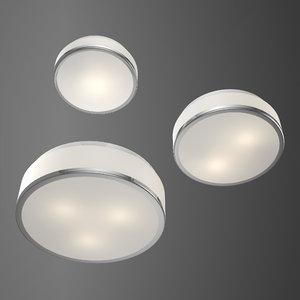 crystal light house ceiling 3D model