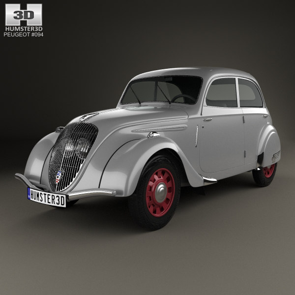 peugeot 202 berline 3D model