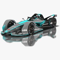 Gen2 Formula E Car Geneva Edition Season 2018 2019