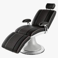 barber armchair 3D model