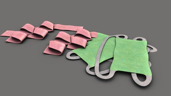 3D model urine bags
