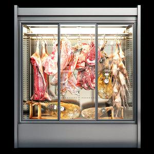 3D animal carcass model