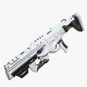 3D designed gun
