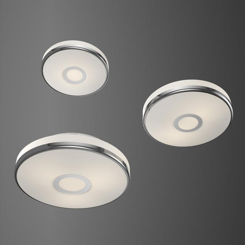 crystal light house ceiling 3D
