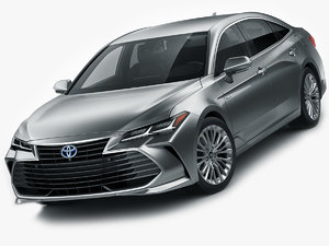 toyota avalon hybrid 3D model