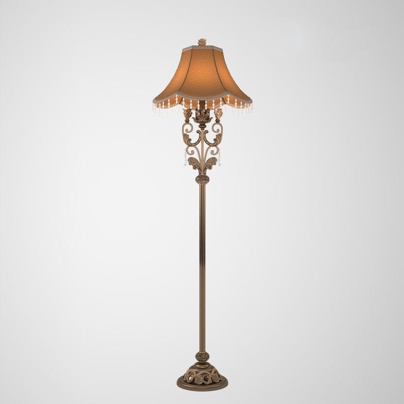 crystal lamp 3D