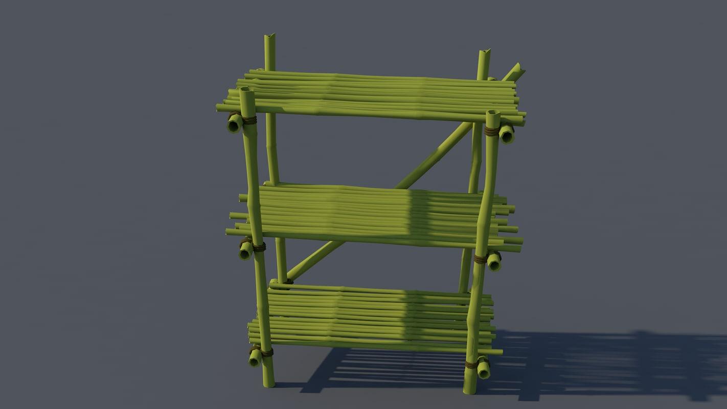 bamboe 3D model