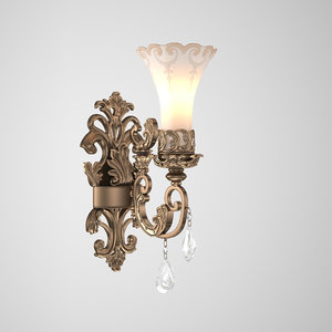 crystal nice light 3D
