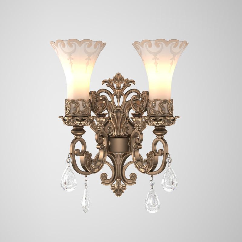 3D crystal nice light model