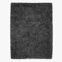 wool mayson black rug 3D