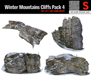 3D witch s rock winter