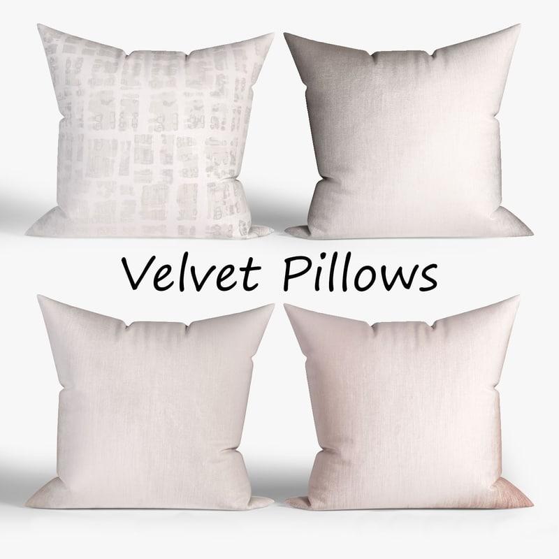 3D pillow fabric model