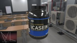 casein bottle 3D model