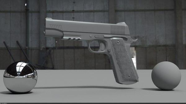 sig 1911 3D