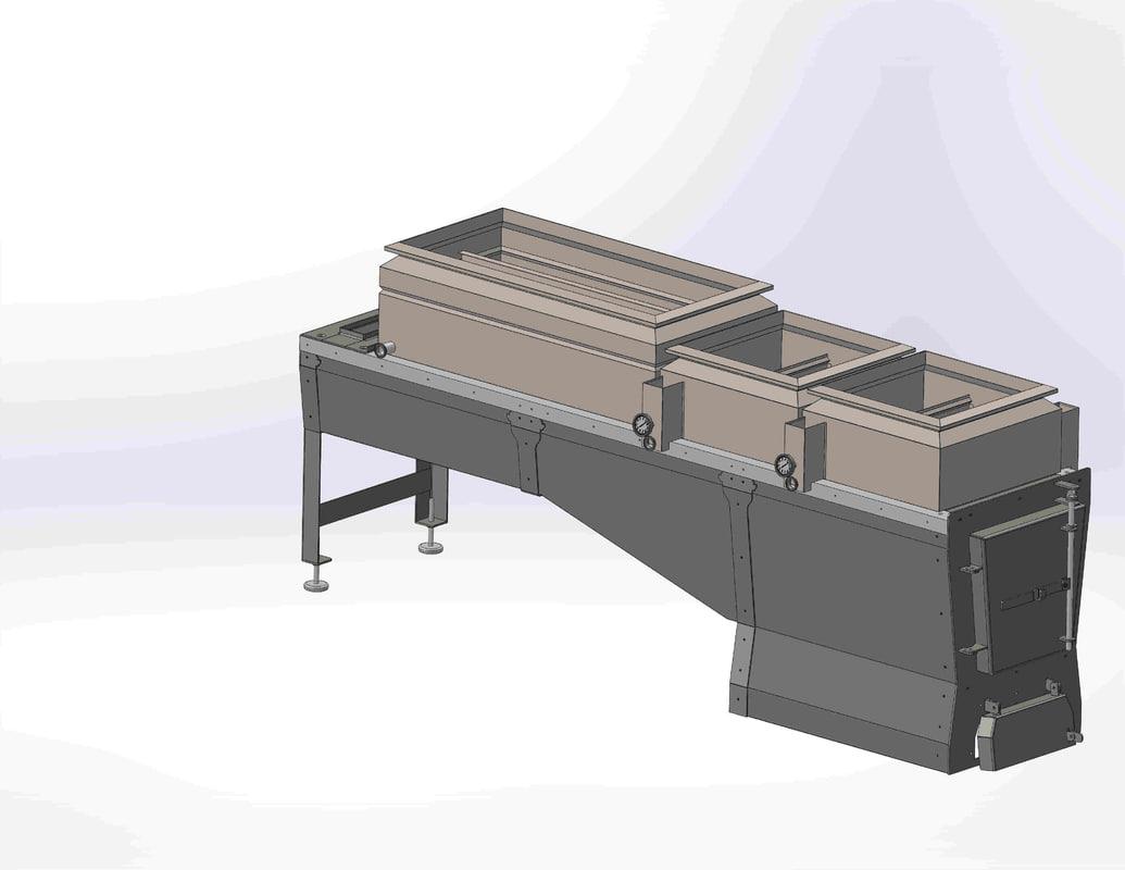 3D evaporator syrup