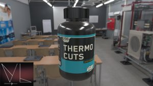 thermo cuts bottle 3D model