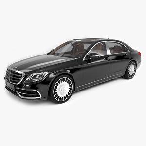 3D model mercedes maybach s600 2018