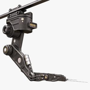 robotic arm 04 3D model