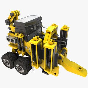 designs heavy duty machine 3D model
