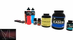 supplement pack 3D model
