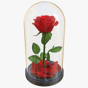 rose flask 01 model