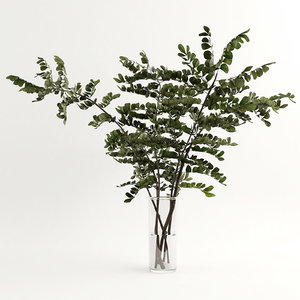 3D branches vase model