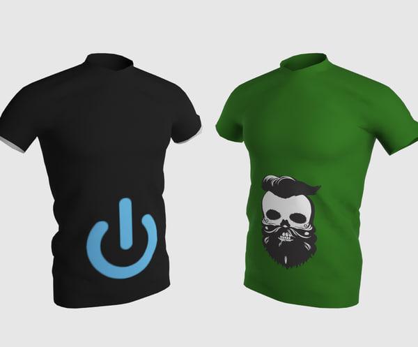 3D model shirt