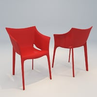arm chair wellington 3D model
