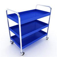 tool trolley cart 3D model