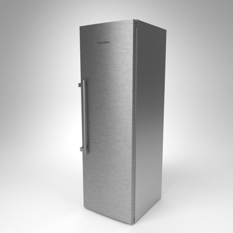 interior liebherr fridge kbef 3D
