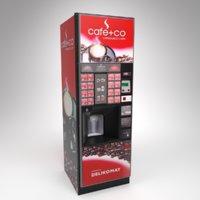 3D model interior rhea vendors coffee machine