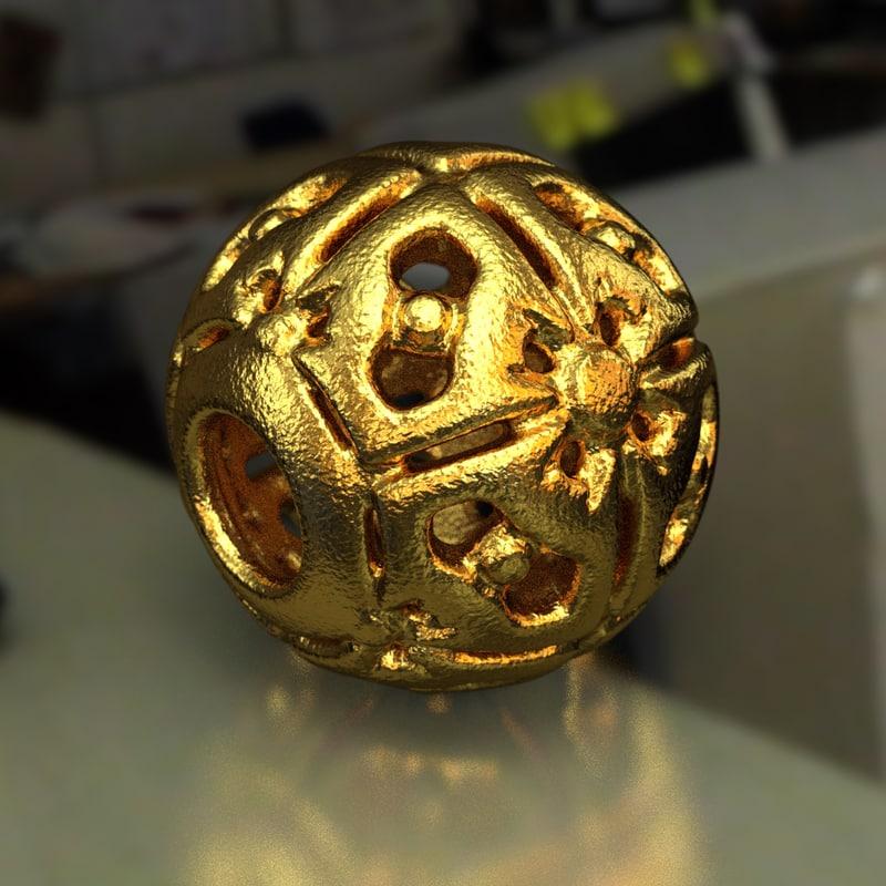 3D jewelry charm pa