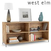 West Elm工業用モジュラー本棚