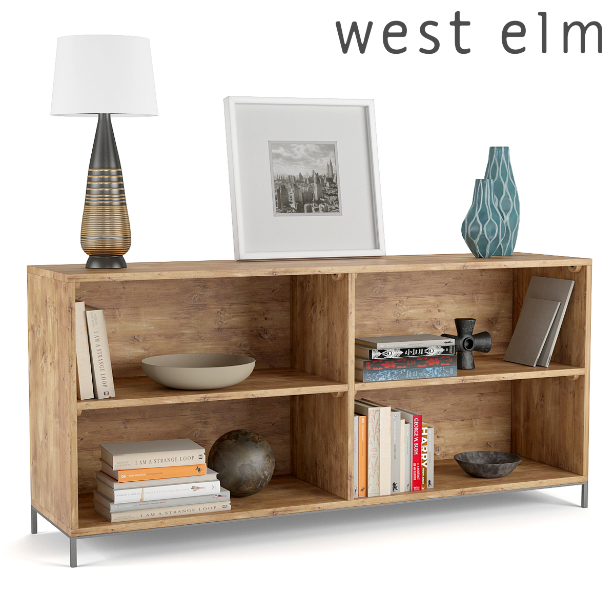 West Elm Industrial Modular Bookcase