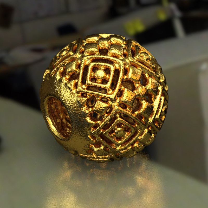 jewelry charm pa 3D