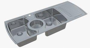 sink oulin yl-302 3D