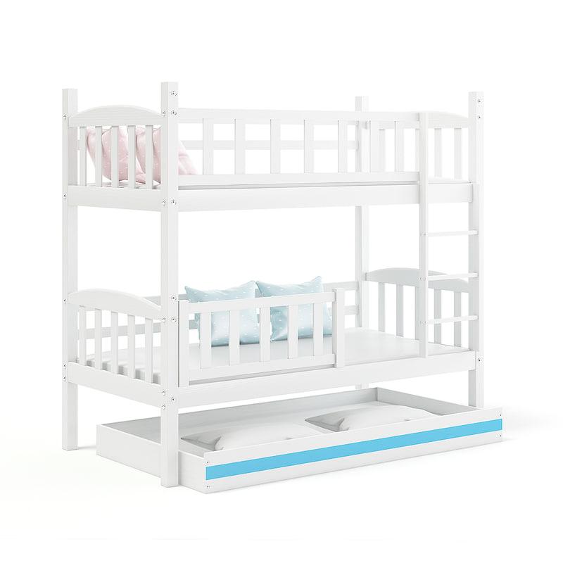 white bed 3D