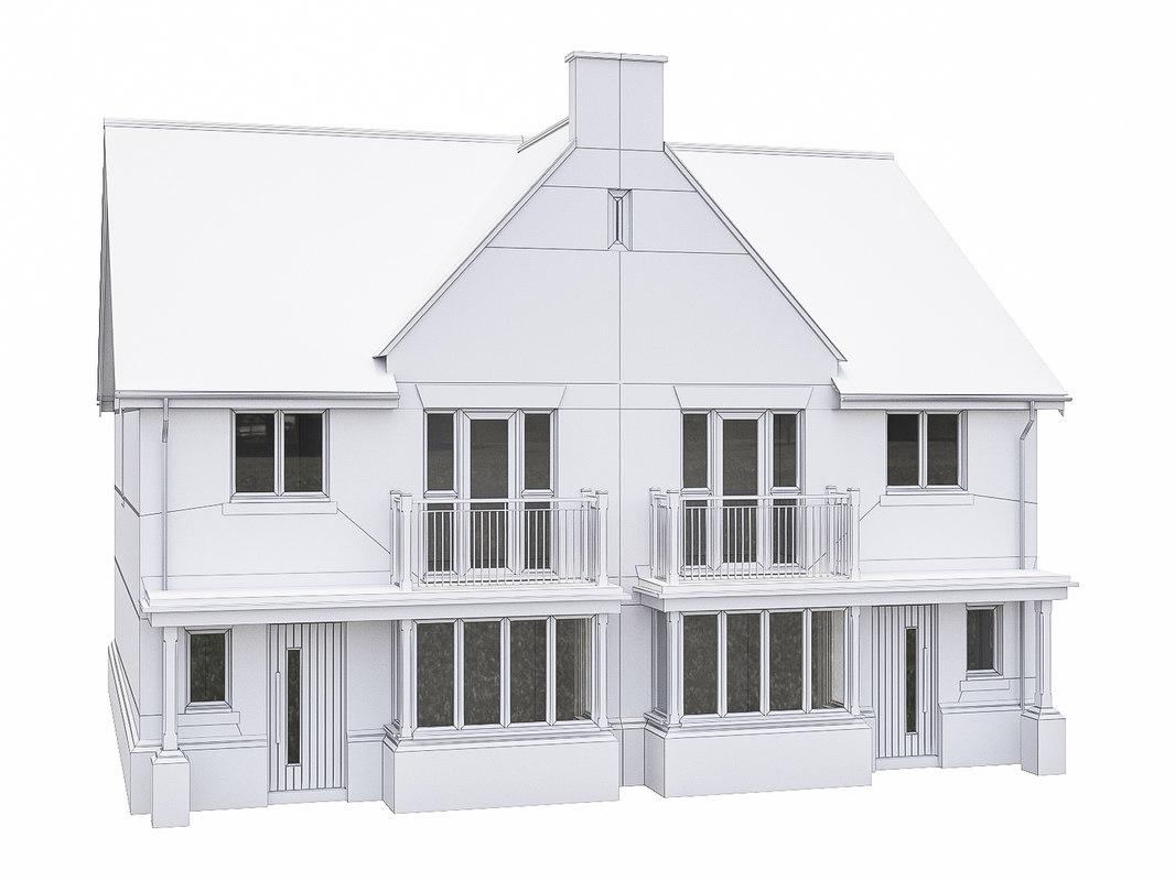 3D house scenes