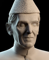 quaid quaid-e-azam 3D model