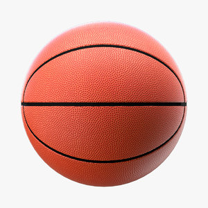 3D basketball modeled